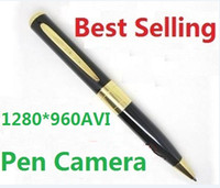 Wholesale Spy Pen Camera Spy Camera Hidden Camera HD Security amp Surveillance hd pen camcorder hot sell from coolcity2012