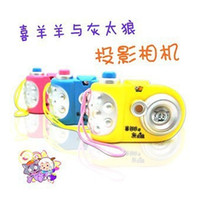 Wholesale Projection camera educational toys luminous projector light up toy projection lamp
