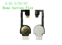 Wholesale Home Button Repair Part Flex Cable Replacement Ribbon For iPhone S G S C