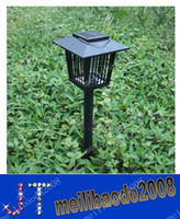 Garden mosquito killer outdoor - Solar Mosquitoes Killer Lamp Lawn Bug Mosquito Pest Insect Killer Zapper Light Outdoor Garden MYY1138
