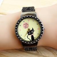 1pcs Women Vine Watch Bronze Bracelet Casual Quartz Watches ...