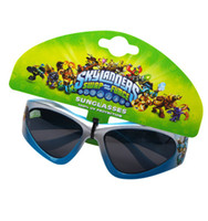 Wholesale Kid Boy s Skylanders Youth Cool Monsters UV Protection Shatter Resistant Lenses Sunglasses with Original Retails Packaging