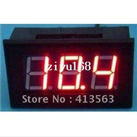 Wholesale DC Digital Voltmeter V Red LED Digital Panel Meter V Voltage Meter DC Power Monitor Red Green Blue