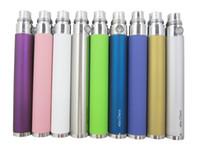 Wholesale Ego C twist Ego c Twist Capacity Variable Voltage battery Adjustable E Cigarette Battery mah mah mah for ego kit DHL