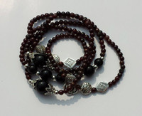 Wholesale Beaded Bracelet Fashion Elegant Western Style Retro Red Agate Bracelet Crystal Lucky Bracelet By CPA S1403111