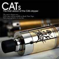 Cheap Cats clone mod rebuildable atomizer ecig RBA VS taifun gt gs tank RDA black helio e cig for raijin Aggressor turtle ship magneto ar mod DHL
