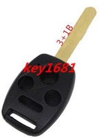 honda accord - Uncut Remote Key Shell Case Fit For Honda Accord Civic Pilot Button Panic