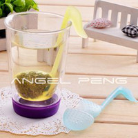 Tea Strainers Plastic ECO Friendly Wholesale retail novelty Music symbol spoon with Tea Strainer Note Tadpole Stirrer Spoon Infuser,filter
