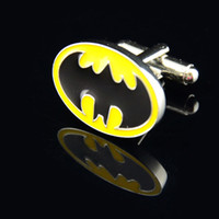 cufflink - Batman Cufflink French Cufflinks Fathers Day Gifts For Men Jewelry Cuff Links C3