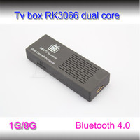 Wholesale XBMC TV Box MK808B RK3066 Dual Core Cortex A9 MINI PC Smart TV BOX GHz RAM GB GB HDMI Bluetooth Android TV BOX