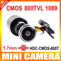 Black color cmos camera - Mini Door Eye Hole quot Color CMOS PC1089 TVL PEEPHOLE DOORVIEW Mirror Color Camera Degree WIDE ANGLE LENS