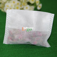 Wholesale Hot Sale X100mm Non woven Empty tea bag Disposable Folding Teabags for tea or flowers