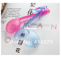 Tea Strainers Plastic ECO Friendly 10Pcs Lot Hot Sale! New Novelty Music Symbol Tea Strainer Note Tadpole Spoon Infuser Plastic Filter Free Shipping