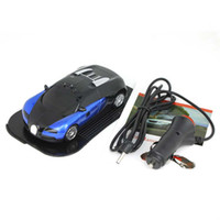 Wholesale Super GPS Full band Radar Detector Alarm Bugatti Car Shape Electronic Dog E dog for Car Vehicle Black and Blue Best price