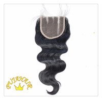 Brazilian Hair Natural Color Body Wave Puja Hair: Brazilian Remy Hair 6A Silk Based Top Lace Closure 3 Part 4*4 inches Natural Color Body Wave Free shipping