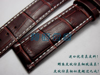 Wholesale New Arrival High Quality Soft band Genuine Leather Strap Steel Buckle Wrist Watch Band mm mm mm mm