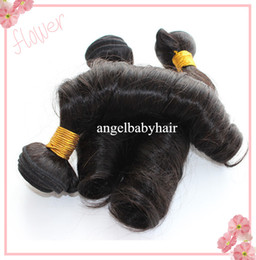 Wholesale DHL Affordable Brazilian Aunty Funmi Hair Weft Remy Human Hair Extensions Mixed Lengths In Stock
