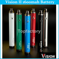 Wholesale Vision Spinner II eGo Twist Battery Variable Voltage Battery mAh V V Vision Spinner for eGo Atomizer