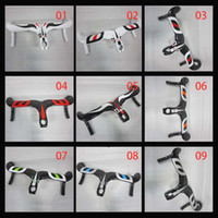 Wholesale 2014 latest Most Integrate Carbon Handlebar Road Bike Drop Handle Bars Different Decals For Sale