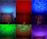 Wholesale Romantic Aurora Master Colorful LED Night Light Ocean Daren Waves Projector MP3 Speaker Lamp USB Rainbow projector Lamp