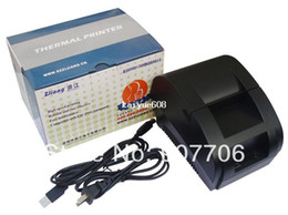 Wholesale High speed black USB Port mm thermal Receipt pirnter POS printer low noise mini printer printer thermal