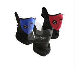 Wholesale 3 colors Windproof Neck Guard Face Mask for ski bicycle motorcycle snowboard top quality