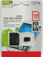 TF / Micro SD Card 128gb 30piece/Lot Class 10 128GB Micro SD card Android Robot Smart Phone microSDHC 128 GB microSD micro SDHC UHS-1 UHS-I U1 128GB TF Card 2014 Cardmate New