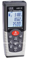 Wholesale 40m m m laser distance meter Rangefinder Tape measure Tool Range finder CEM LDM OEM English Russian maunal