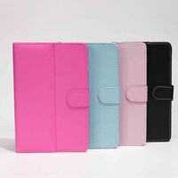Wholesale MOQ PU Leather Folio Stand Case Cover for quot Android Tablet PC MID Multi Color In Stock