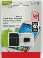 TransFlash Cards   128GB Micro SD card Class 10 Android Robot Smart Phone microSDHC 128 GB microSD SDHC UHS-1 UHS-I U1 128GB TF Card 2014 Cardmate DHL UPS Free