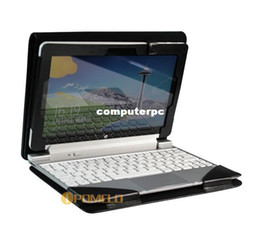 Wholesale NEWEST Triple PU Leather Case Cover With Keyboard Station Shell Cover Pouch for Acer Iconia Tab W510 Tablet