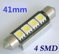 Wholesale White SMD mm mm mm SMD mm SMD Xenon FESTOON SUPER bright Dome MAP Light LED Bulbs Car doom map door lamp
