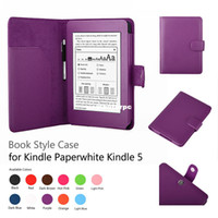 7'' apple kindle reader - Kindle Reader Case for Amazon Kindle Paperwhite Wifi G Free Screen Protector Kindle Paperwhite Stand Leather Cover