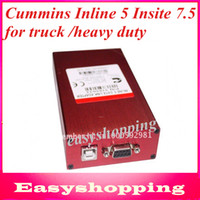 Wholesale Newest CUMMINS ENGINE FAULT CODE READER INLINE INSITE INLINE data link adapter for trucks and heavy duty vehicles freeshipping