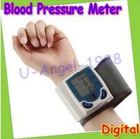 Wrist blood pressure - Digital LCD Wrist Cuff Arm Blood Pressure Monitor Heart Beat Meter Machine