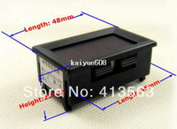 Wholesale New quot Digital Voltmeter DC V Vehicles car Motor Voltage Panel Meter led Display Color Red pieces