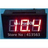 Digital Only dc voltage panel meter - DC Digital Voltmeter V Red LED Digital Panel Meter V Voltage Meter DC Power Monitor