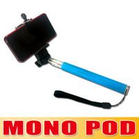 Wholesale Hot Portable Handheld Self Timer Monopod for Camera amp Phone Telescopic Extendible Selfprotrait Holder for Iphone Samsung Goodbiz