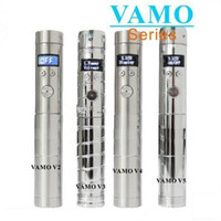Cheap Vamo V2 V3 V4 V5 mod e cigarette updated lava tube ecigarette vv350 vv650 vamo mod v2 vamo v3 v4 vamo v5 Electronic Cigarette Battery body