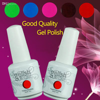 Soak-off Gel Polish uv led gel  By TNT 2014 UV Gel Polish Gelish Nail Polish Soak Off UV Gel For Salon 242 New Colors 15ml 24Pcs lot 15ML Factory Sales