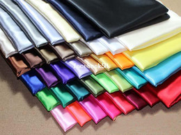 Wholesale 59 quot m Width Silk Satin Fabric Wedding Satin m Stock Color