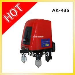 Wholesale AK435 degree self leveling Cross Laser Level V1H Red line point HOT SALE