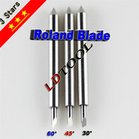 Wholesale Roland plotter blade for a variety of extra accuracy and high density tungsten carbide blade durable sales RO005