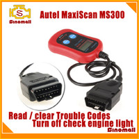 Wholesale 2014 Sales MaxiScan MS300 MS code scanner CAN OBD II OBD OBD II touble code reader check engine light