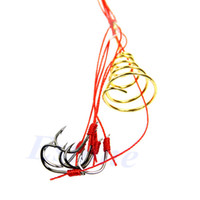 No Manual No Set of 4pcs Carp Fishing Hooks Power Bait Trap Explosion Hooks Tackle With Box 7#-12#