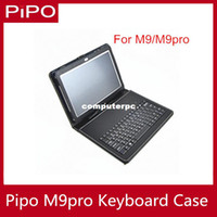 7'' For Apple For Ipad 2/3 Micro USB keyboard leather case for PIPO M9Pro M9 free shipping