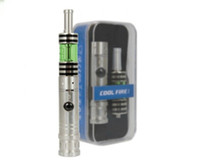 Single   Newest innokin cool fire 1 Starter kit with iclear 30B dual coil atomizer electronic cigarette cool fire 1 Free shipping