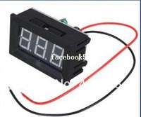 Wholesale 12V V quot Digital Voltage Panel Volt Meter DC Voltmeter LED Red V Car Vehicle Battery Monitor Power Detector