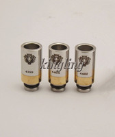 Cheap Electronic Cigarette KING Drip Tips fit Rebuildable 3D Omega Trident Tobh Atty V2 Kraken Lotus Stillare Taifun CE4 CE6 Clearomizer Atomizer