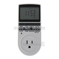 Wholesale US Plug in Programmable Digital Timer Switch h Day Week LCD Display